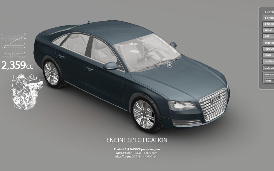 Audi A8 Configurator