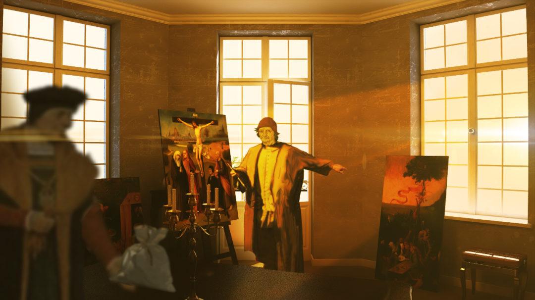Jeroen Bosch installatie Noord Brabants Museum