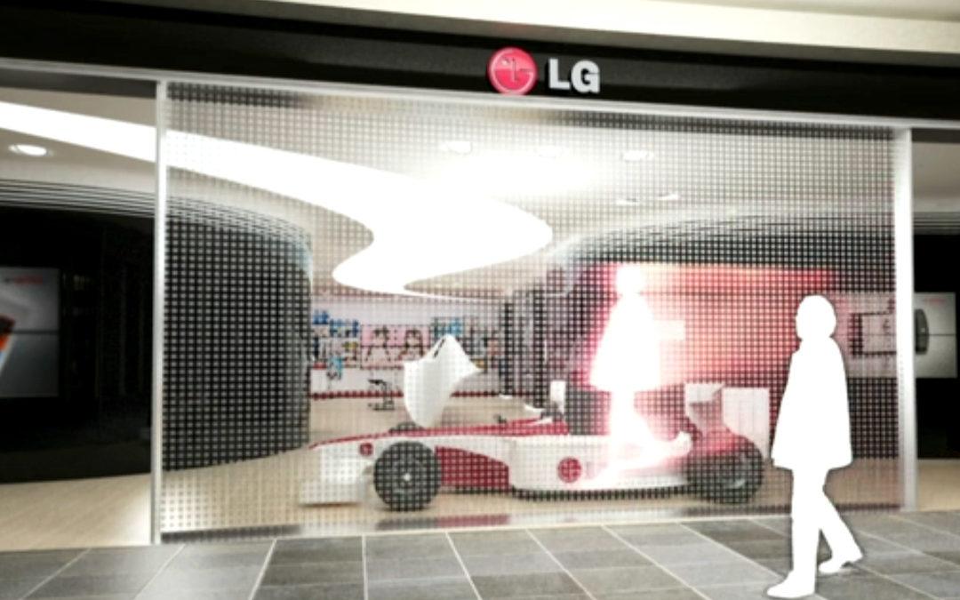 LG electronics retail